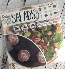 Grow Your Own: Salad Seedsheet