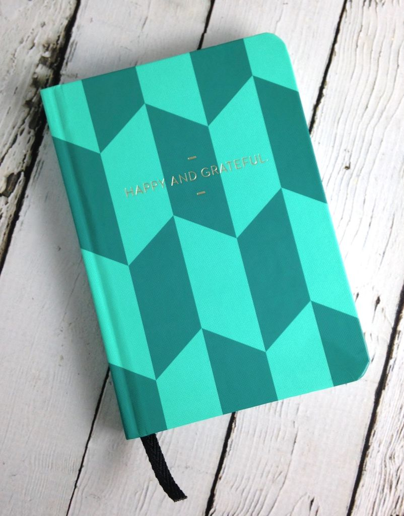 Happy & Grateful:  Motto Journal