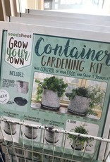 Grow Your Own Container Garden Kit