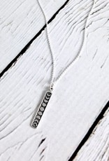 Sterling Silver Moon Phase Necklace