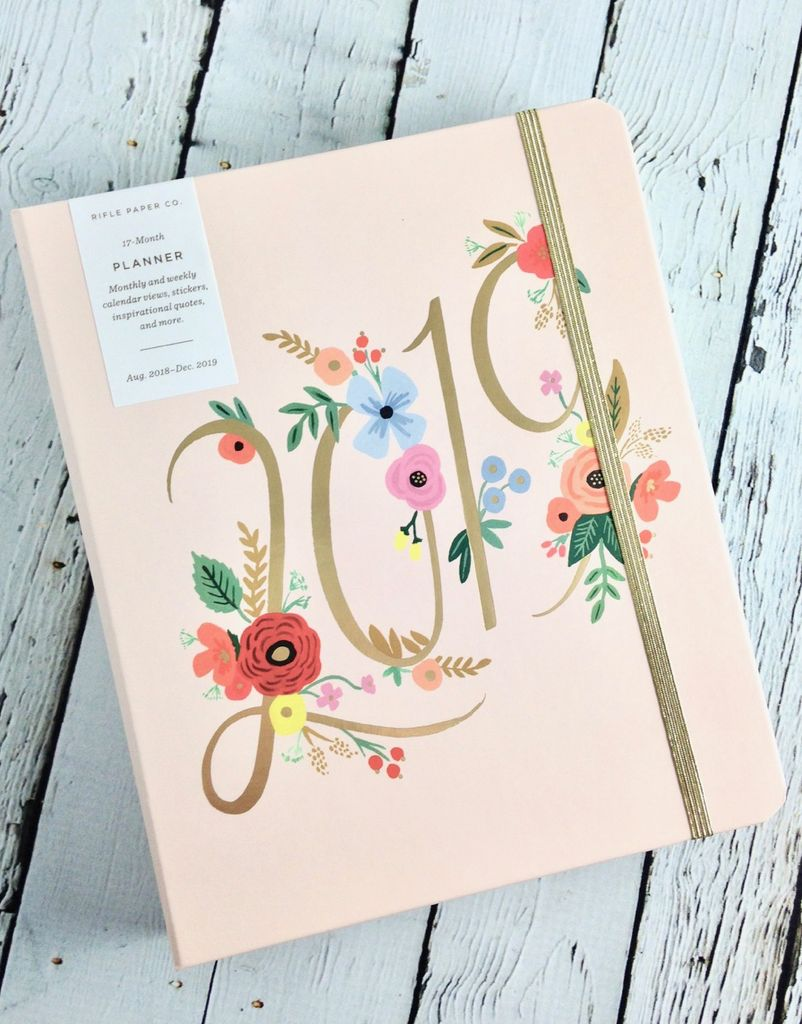 Bouquet 2019 Covered Planner (17 Month)