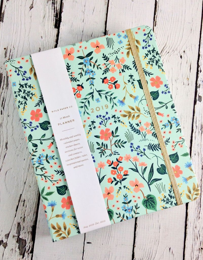 Wildwood 2019 Covered Planner (17 Month)