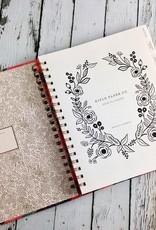Juliet Rose 2019 Spiral Bound Planner (17 Month)