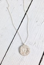 """Handmade """"Lift Your Eyes Upon"""" Tree Stone Necklace"""