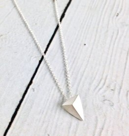 """You Are Mighty"" Pyramid Necklace"