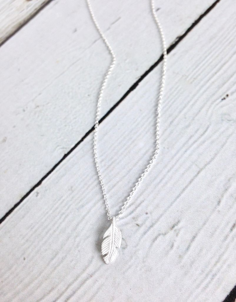 """Handmade """"Light As A Feather"""" Necklace"""