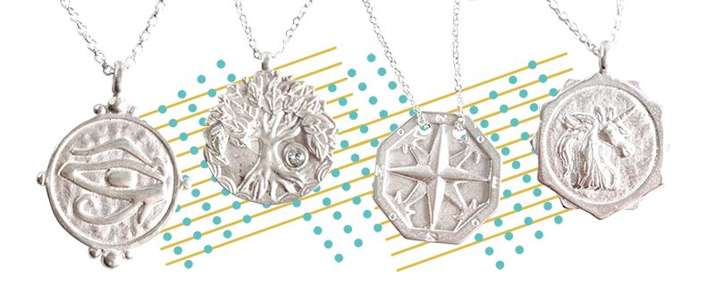 Bold Sterling Silver Pendants