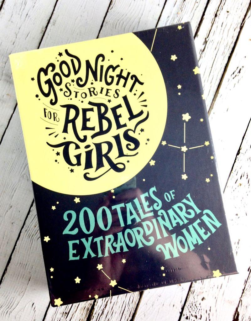 Box set of Vol 1 & 2 Goodnight Storeis for Rebel Girls