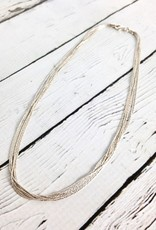 Sterling Silver Spark Chain Necklace