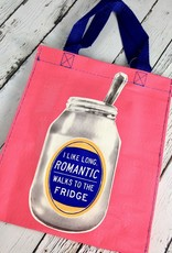 Romantic Walks To The Fridge Handy Tote