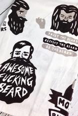 Awesome Fucking Beard Dish Towel