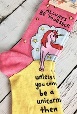 Always Be A Unicorn Women's Crew Sock