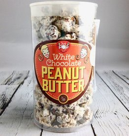 Small Tub of Just Pop In! White Chocolate Peanut Butter Popcorn