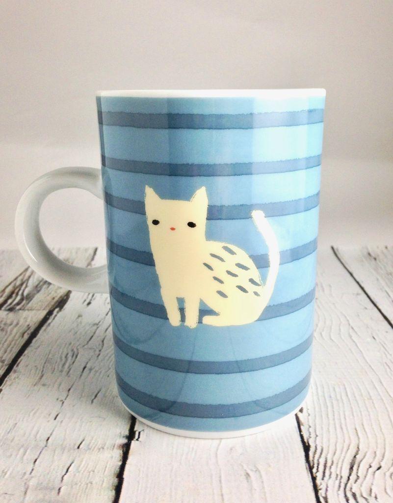 Frenchie & Cat Tall Mug
