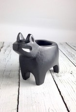 Black Bear Candle Holder