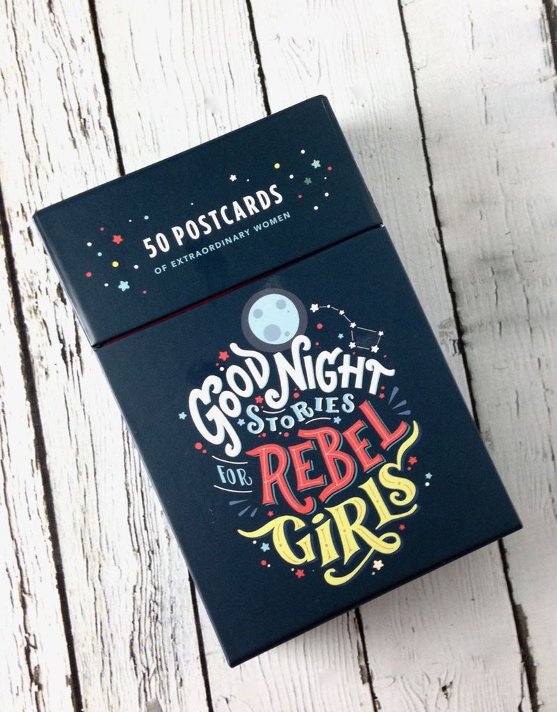 Goodnight Stories for Rebel Girls: 50 Postcards
