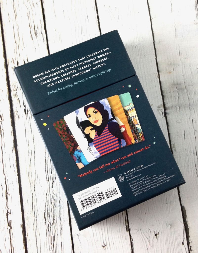 3eed223b8 Goodnight Stories for Rebel Girls: 50 Postcards - Silver in the City