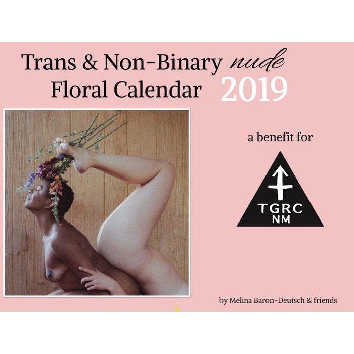TRANS & NON-BINARY NUDE FLORAL CALENDAR 2019
