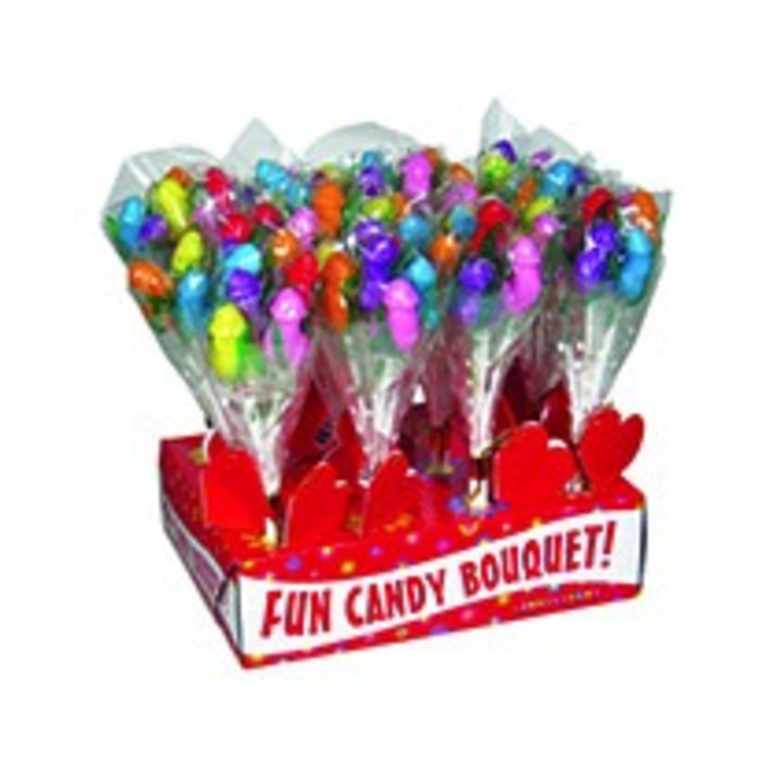 BOUQUET CANDY PENIS x 12