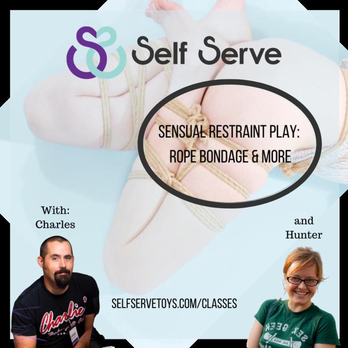 10.12.2020 - SENSUAL RESTRAINT PLAY: ROPE BONDAGE & MORE