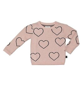 HuxBaby HuxBaby, Heart Knit Jumper