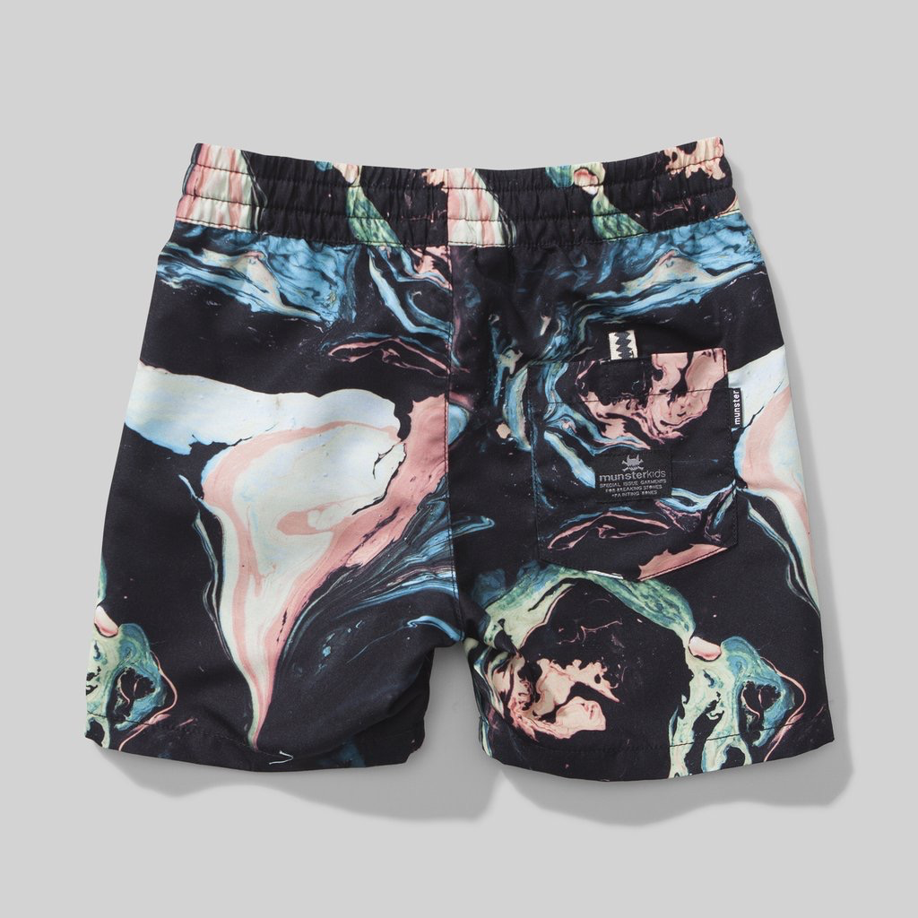 Munster Kids Swirl Board Shorts