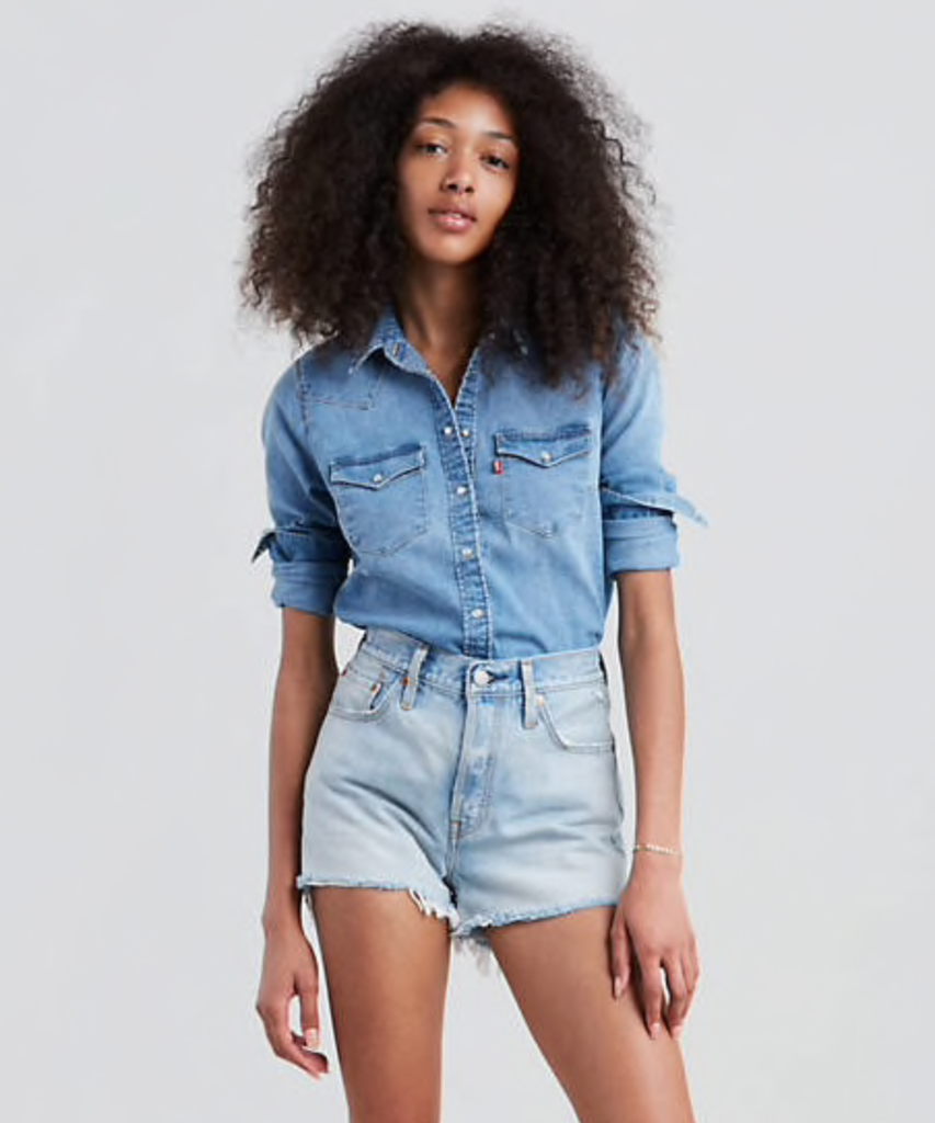 Levis Womens Ultimate Western Shirt 58930-0025