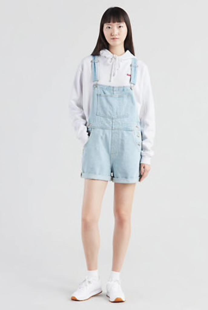 Levis Womens Vintage Shortall 52333-0004