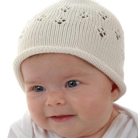 6211e327f Twinklebelle, Knit Eyelet Hat