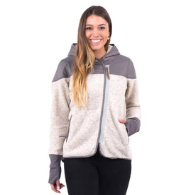 Holden Holden, Women's Sherpa Zip Up Fleece