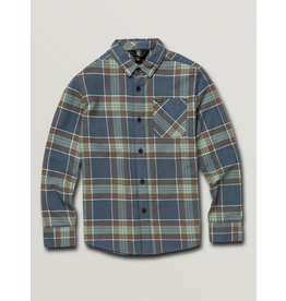 Volcom Volcom, Youth Boys, Caden Plaid Long Sleeve