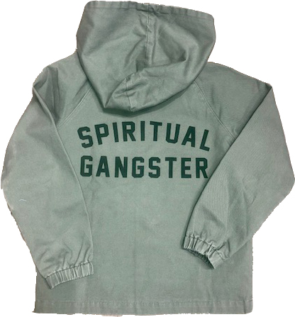 Spiritual Gangster Spiritual Gangster, Hooded Military Jacket