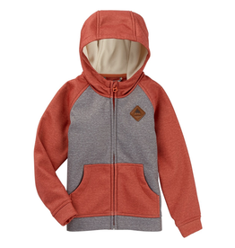 burton Burton, Mini Shred Crown Bonded Full Zip Hooded Sweatshirt