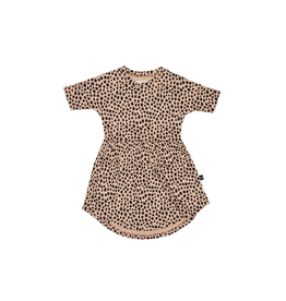 HuxBaby Huxbaby, Leopard Swirl Dress