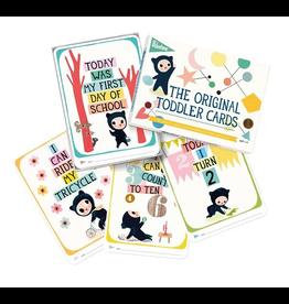 Milestone Milestone Cards, Toddler
