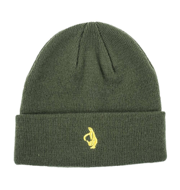 krooked Krooked, OG Bird Embroidered Cuff Beanie