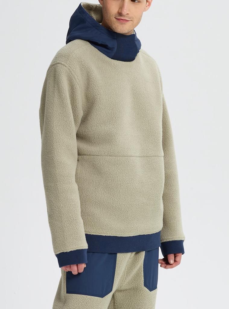 burton Burton, Mens Tribute Fleece Pullover
