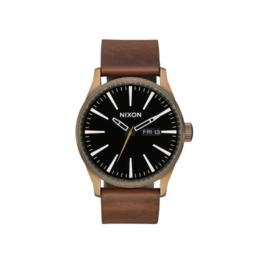 Nixon Nixon, Sentry Leather Watch