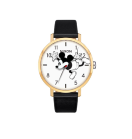 Nixon Nixon, Arrow Leather Watch, Mickey Mouse
