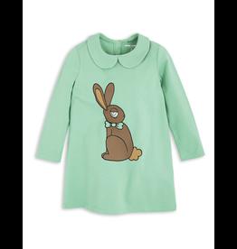 MiniRodini MiniRodini, Long Sleeve Rabbit Dress