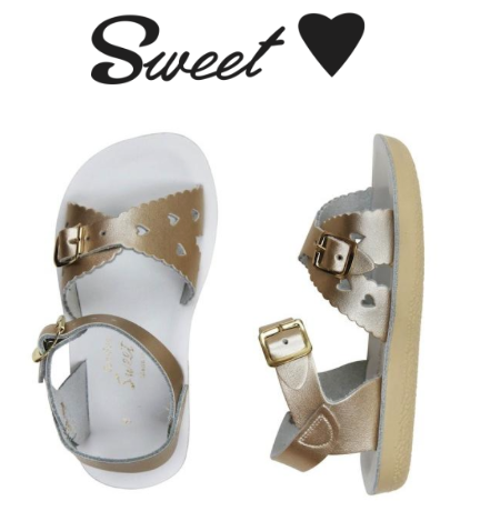 4b0a0bf4d1c0e Saltwater Salt Water Sandals, Sweetheart Toddler - The Circle