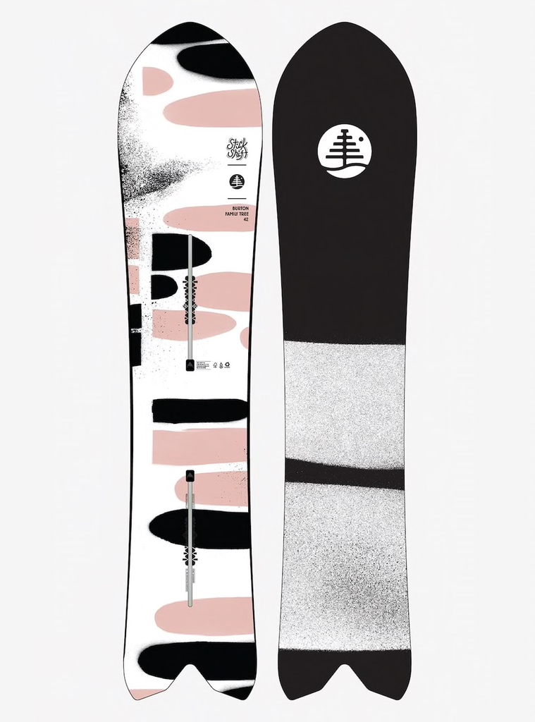 burton Burton, Womens Family Tree Stick Shift Snowboard