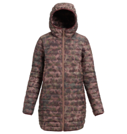 burton Burton, Women's Evergreen Long Down Hooded Jacket