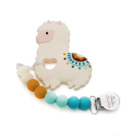 Louloulollipop Loulou Lollipop, Llama Silicone Teether set - o/s Multi