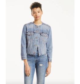 Levis Levis, Womens Altered Trucker Denim Jacket 35935-0000