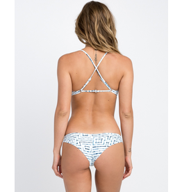 RVCA RVCA, Tie Dye Tile Cheeky Swim Bottom