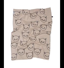 HuxBaby HuxBaby, Cat Knit Blanket