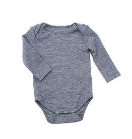 Nui Nui Organics, Infant Organic Merino Thermal Bodysuit
