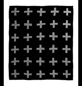 Modern Burlap Modern Burlap, Reversible Throw Blanket
