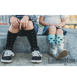 Lamington Lamington, Kids Design Collection, Knee High Merino Wool Socks